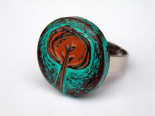 Tree Hugger Ring | by blockpartypress