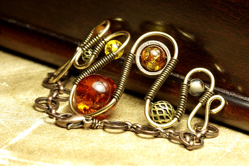 Steampunk Jewelry Bracelet made by CatherinetteRings | by Catherinette Rings Steampunk