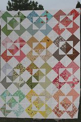 A colorful quilt top | by filminthefridge