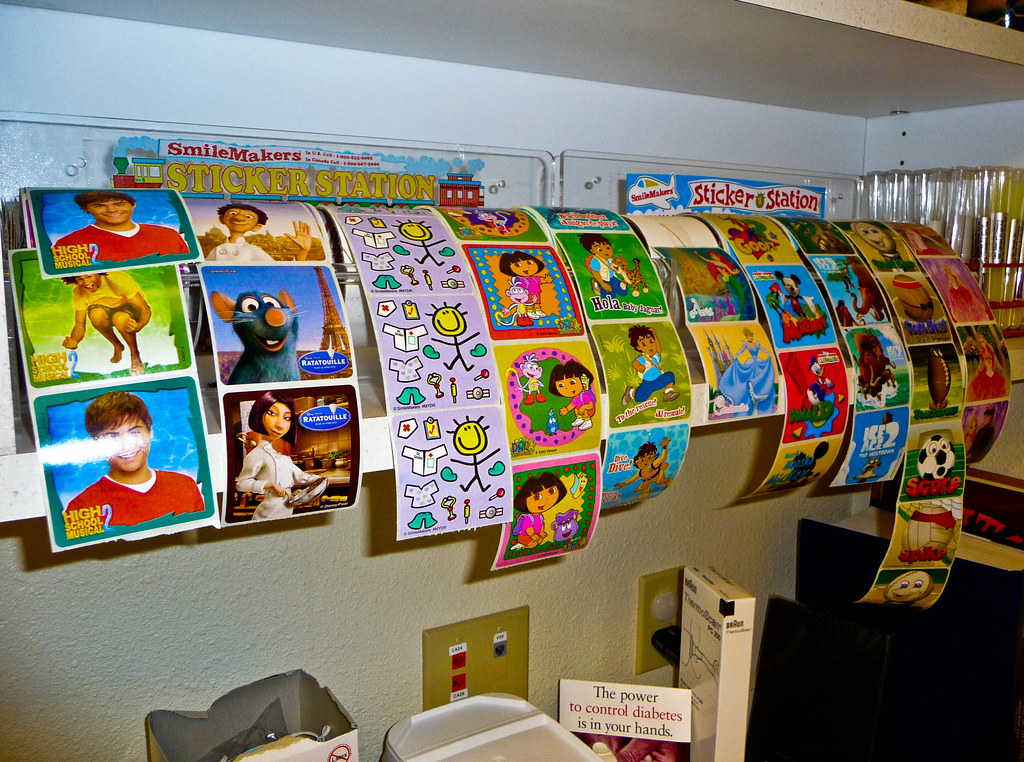 ... Stickers for Children - Klamath Tribal Health and Wellness Center | by  ex_magician