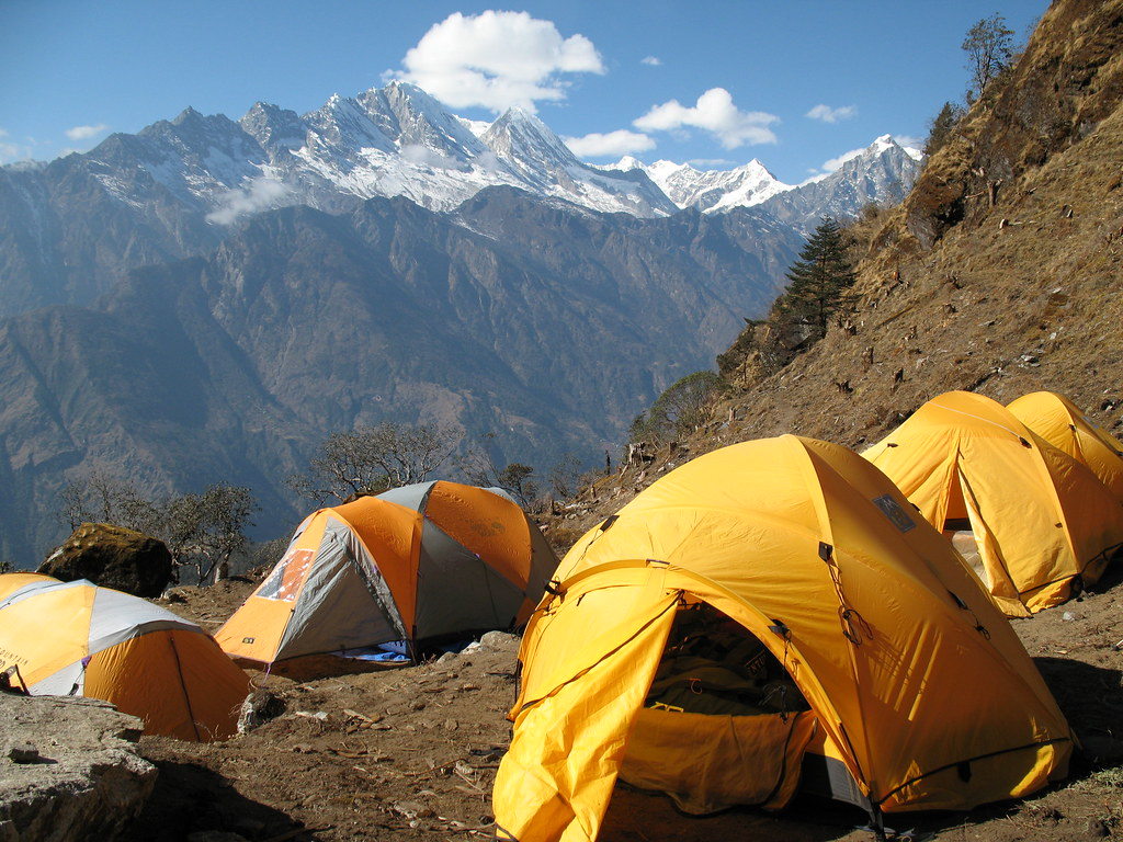 Camp at Chutanga