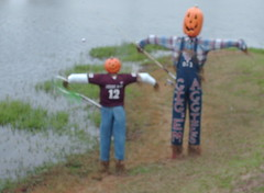 aggie scarecrows | by theidahostouts