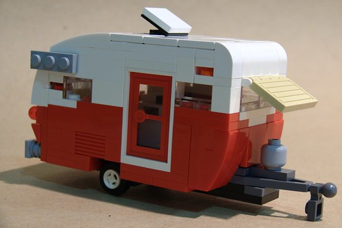 Shasta Teardrop Travel Trailer: Right/Front | by Bill Ward's Brickpile