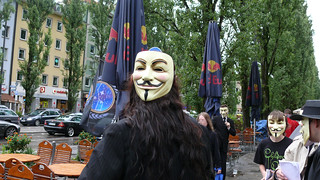 Anonymous Operation Spy vs. Sci on July 12 in Munich, Germany | by anonmuc
