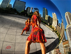 Chicago through the Bean | by _Paula AnDDrade