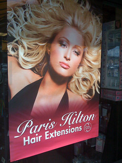 Paris Hilton hair extensions | Niall Kennedy