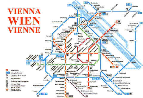 Map Of Vienna Subway
