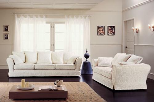 Salotto classico divani singoli e componibili con - Outlet ingrosso mobili ...