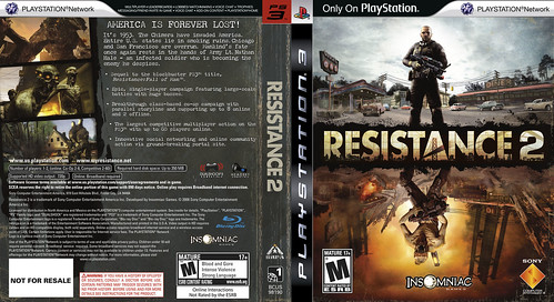 Resistance 2 Cover 2 | by PlayStation.Blog