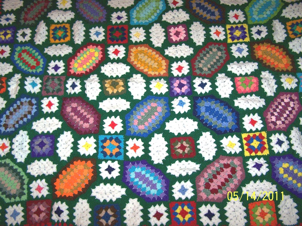 Granny Square Afghan Pattern Cool Decorating