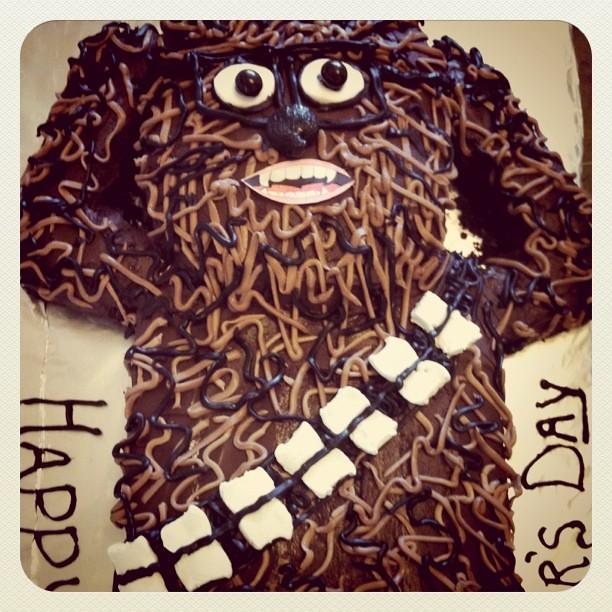 chewbacca birthday cake dani rae law flickr