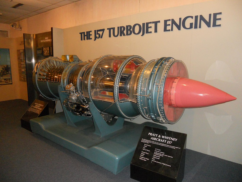 Tf33 Jet Engine Aircraft Diagram Trusted Wiring Turbofan Schematic Pratt Whitney J57 Turbojet Cutaway The Fact C Flickr Pulse