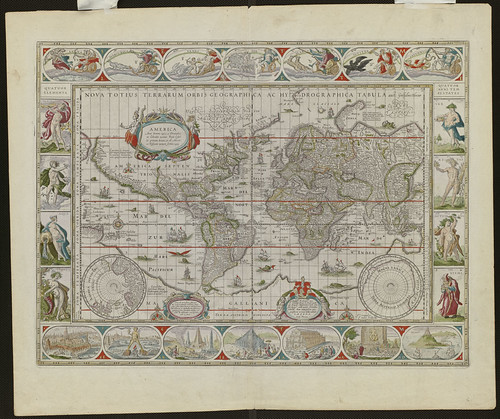 Noua totius terrarum orbis geographica ac hydrographica tabula | by Norman B. Leventhal Map Center at the BPL