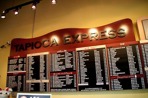 Tapioca Express Canada Style