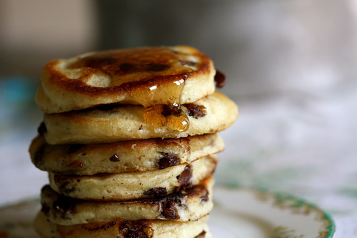 Milk Chocolate Chip Pancakes | by joy the baker