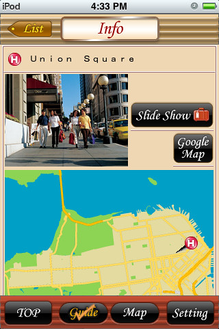 iPhone App: Travelo Mini - SF '09 | by Daynah.net
