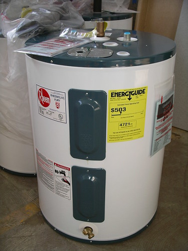 Rheem Hot Water Heaters >> 30 Gallon Electric Water Heaters $150. | Rheem electric 30 g… | Flickr