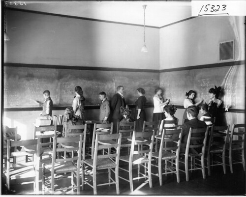 Ohio State Normal College practice teaching group 1916 | by Miami U. Libraries - Digital Collections