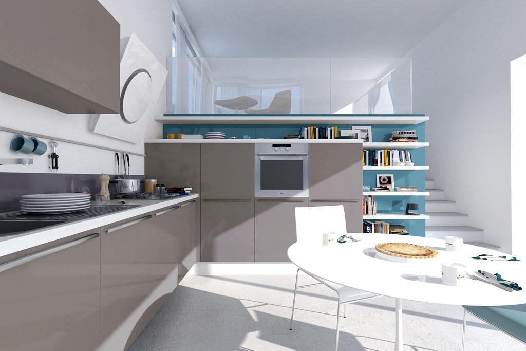 Pamela render | Design & AD per Cucine LUBE nuova immagine c… | Flickr