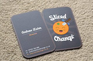 My New Business Cards | by sliced_orange