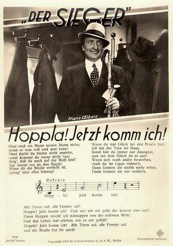Hans Albers in Der Sieger (1932)