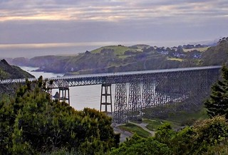 Rita Crane Photography: Dawn over Albion Bridge, Mendocino County | by Rita Crane Photography