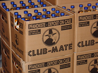 Club-Mate Boxes | by mightyohm
