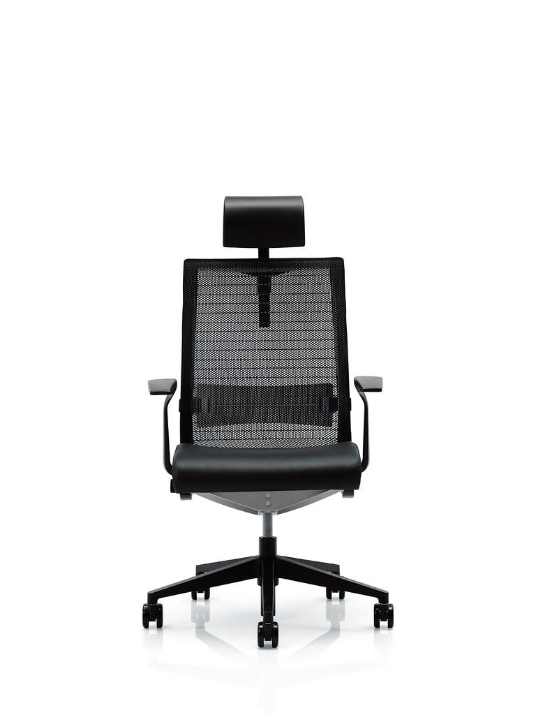 Steelcase think chair -  Steelcase Think Chair With Headrest By Smithcfi