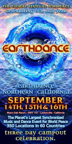 Earthdance 2007 Flyer | by ZDCA Design & Development