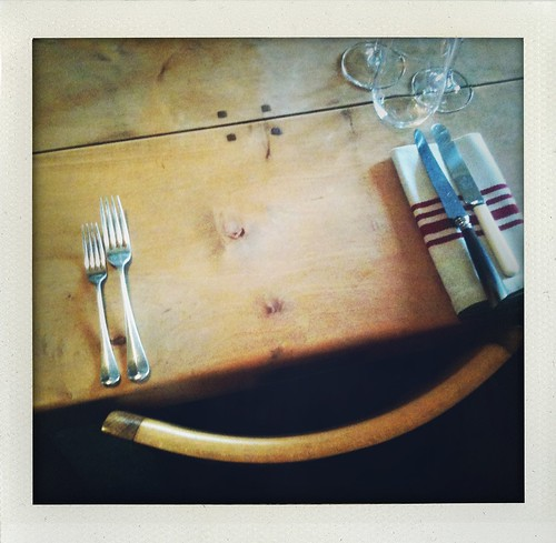 lovely dining table the agrarian kitchen | by jules:stonesoup