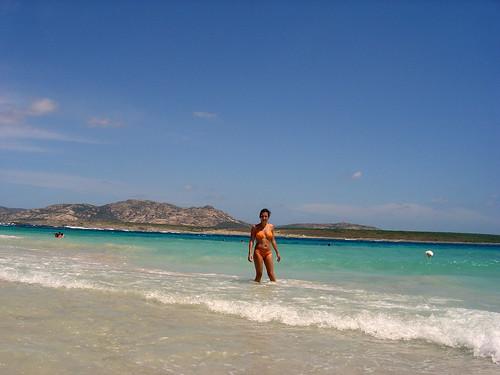 Martina alla spiaggia della pelosa 2 lorello flickr - Alla colorazione della spiaggia ...