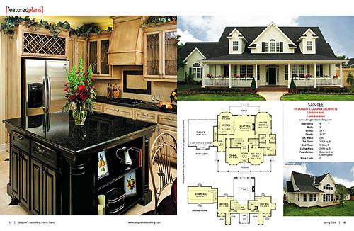 Designer 39 s best selling home plans magazine editorial for Best house design magazines