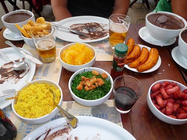 substitutos para comidas brasileiras nos EUA