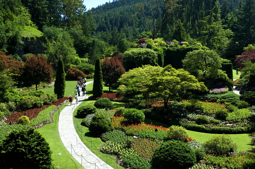 BUTCHART GARDENS- FROM ROCK QUARRY TO PARADISE | Butchart Ga… | Flickr