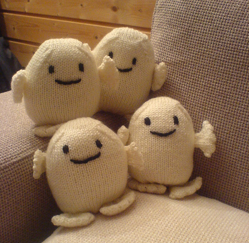 Knitted Adipose 1 A Few Little Adipose Friends Made As Chr Flickr