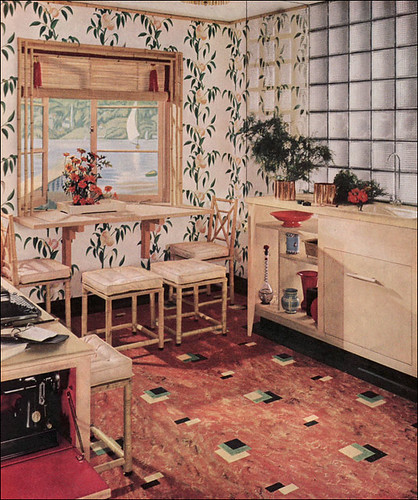 retro kitchen light 1939 armstrong kitchen shown in the home journal 1939