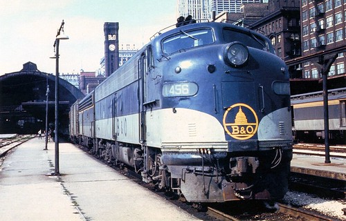 ��e9�.�b�_Postcard-BORailroad#1456-EMDE9-Chicago,IL-196…|Flickr