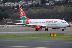 Kenya Airways 5Y-KYE | by Drewski2112