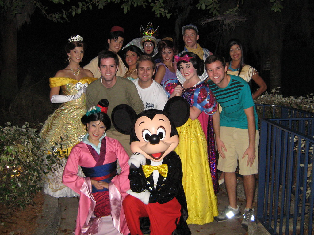Fantasmic character meet and greet we got to meet most of flickr fantasmic character meet and greet by ajruck m4hsunfo