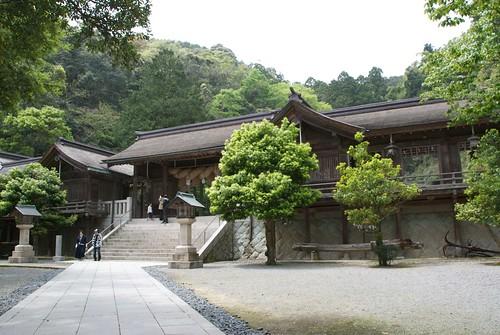 美保神社の神門