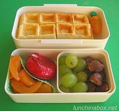 Tamarind and waffle bento lunch for preschooler | by Biggie*