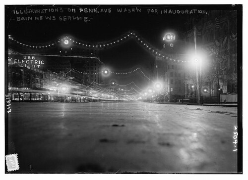 Illuminations on Penn. Ave. Wash'n. for inauguration  (LOC) | by The Library of Congress