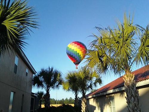 The balloons are buzzing the neighborhood. | by Michael Wender
