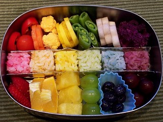 Rainbow Bento 1 | by jewelmaker21