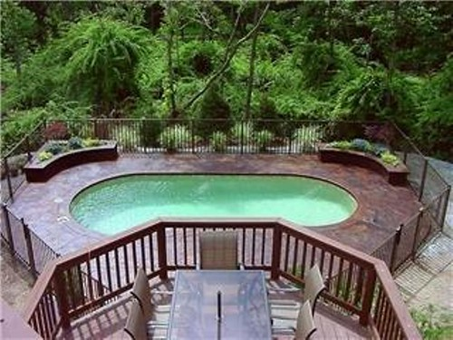 Monterey 12a viking pools kidney design pool designs for Pool designs yardville nj