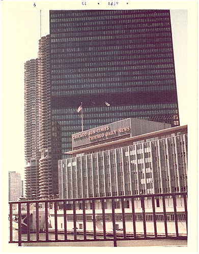 1970's Chicago Sun-Times Building | From September 1973 ...