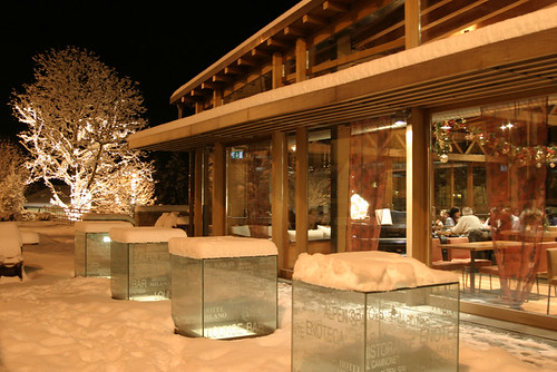 lounge bar exterior hotel milano alpen resort bratto i