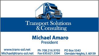 Transport Solutions Business Card Business Card I Designed Flickr