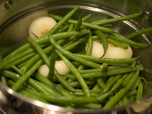 how to prepare french beans