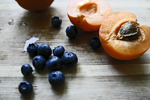 blueberries & apricots take 2 | by joey armstrong